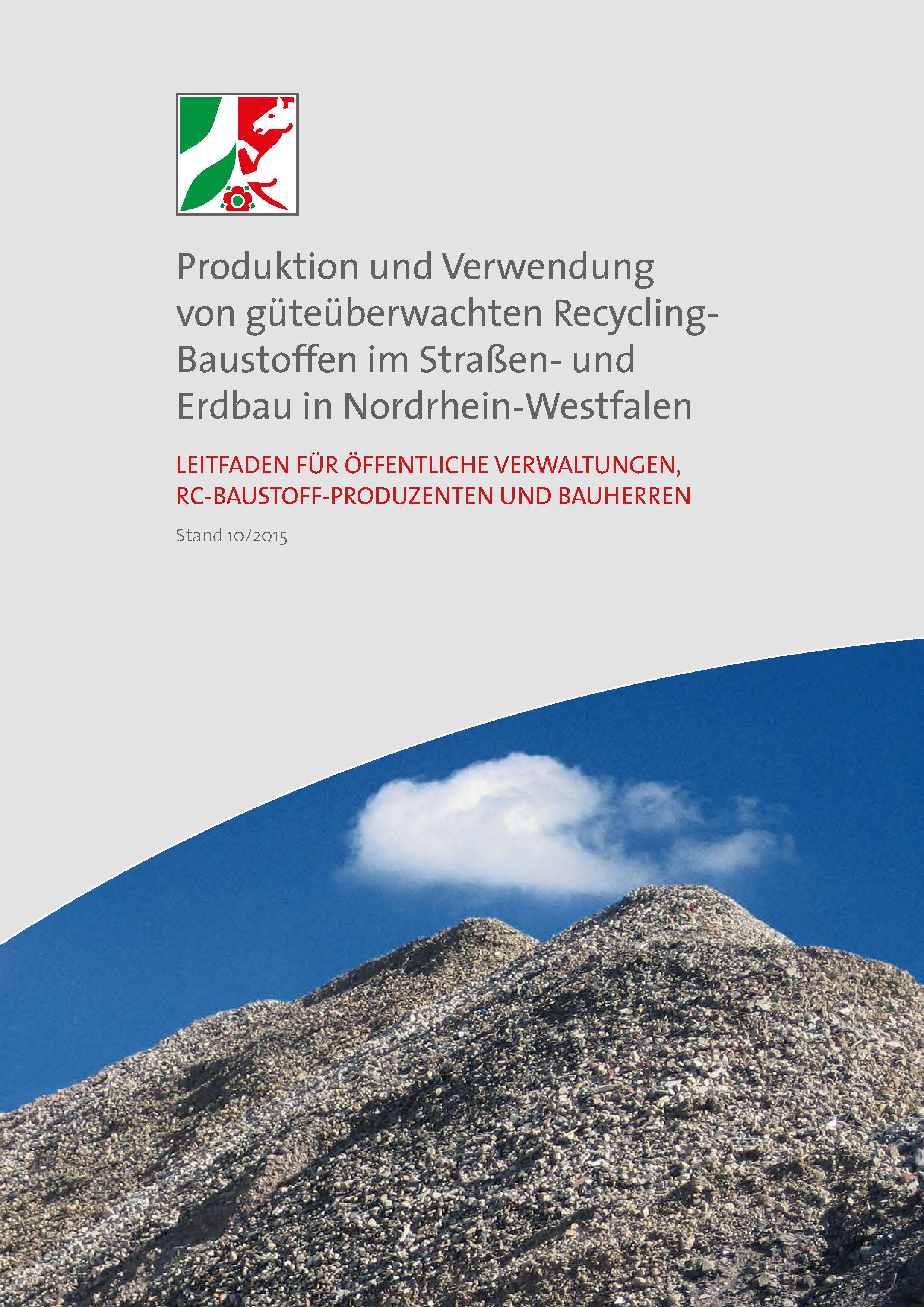 NRW: Neuer RC-Leitfaden führt durch die Welt der Recycling-Baustoffe